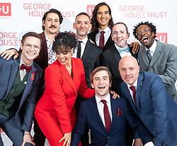 © Licensed to London News Pictures. FILE PICTURE DATED 26/10/2019. Salford , UK. The cast of Russell T Davies' TV drama It's a Sin attend a George House Trust fundraising gala at the Lowry Hotel in Salford . Photo credit: Joel Goodman/LNP