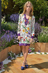 LADY MARY FURZE at the 2014 RHS Chelsea Flower Show held at the Royal Hospital Chelsea, London on 19th May 2014.
