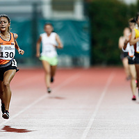 Vanessa Lee of National University of Singapore leads the field on her last lap during the women's 5000m event. (Photo © Lim Yong Teck/Red Sports) The 2018 Institute-Varsity-Polytechnic Track and Field Championships were held over three days in January.<br /> <br /> Story: https://www.redsports.sg/2018/01/15/ivp-day-one/<br /> <br /> Story: https://www.redsports.sg/2018/01/18/ivp-day-two/<br /> <br /> Story: https://www.redsports.sg/2018/01/23/ivp-day-three/
