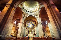 Interior da Basílica de Sacré Coeur, Montmartre, Paris. FOTO: Jefferson Bernardes/ Agência Preview