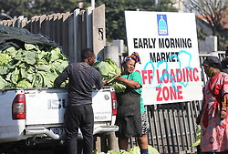 South Africa - Durban - 23 July 2020 - A man selling cabbages at the back of his van at the Early Morning Market in Warwick Avenue in Durban on Thursday. A study doing rounds online states that eating this raw vegetable maybe beneficial against the coronavirus by reducing the levels of a compound that helps the virus infect the body.<br /> Picture: Doctor Ngcobo/African News Agency(ANA)