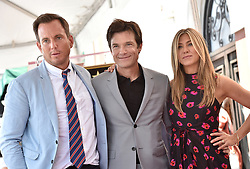 Jason Bateman honored with star on the Hollywood Walk of Fame. Hollywood, California. 26 Jul 2017 Pictured: Will Arnett,Jason Bateman,Jennifer Aniston. Photo credit: AXELLE/BAUER-GRIFFIN / MEGA TheMegaAgency.com +1 888 505 6342