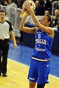 DESCRIZIONE : Parma All Star Game 2012 Donne Torneo Ocme Lega A1 Femminile 2011-12 FIP <br /> GIOCATORE : Francesca Mariani<br /> CATEGORIA : tiro<br /> SQUADRA : Nazionale Italia Donne Ocme All Stars<br /> EVENTO : All Star Game FIP Lega A1 Femminile 2011-2012<br /> GARA : Ocme All Stars Italia<br /> DATA : 14/02/2012<br /> SPORT : Pallacanestro<br /> AUTORE : Agenzia Ciamillo-Castoria/C.De Massis<br /> GALLERIA : Lega Basket Femminile 2011-2012<br /> FOTONOTIZIA : Parma All Star Game 2012 Donne Torneo Ocme Lega A1 Femminile 2011-12 FIP <br /> PREDEFINITA :