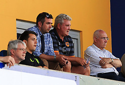 Hull City manager Steve Bruce watches from the stand - Mandatory by-line: Matt McNulty/JMP - 19/07/2016 - FOOTBALL - One Call Stadium - Mansfield, England - Mansfield Town v Hull City - Pre-season friendly