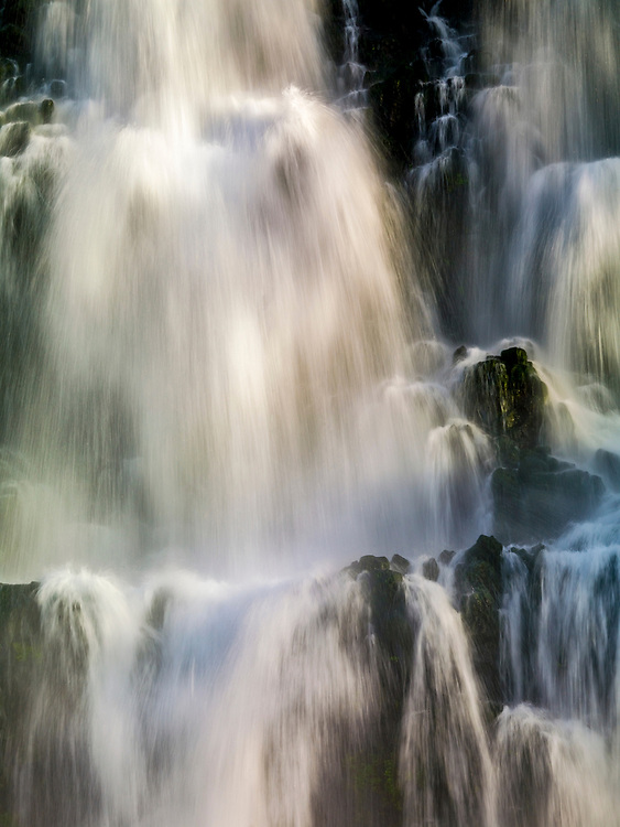 Licensing - Open Edition Prints Cascading waterfall at Thousand Springs near Hagerman Idaho on the Snake River