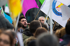 2016-02-04 Kurds protest outside Supporting Syria conference, London