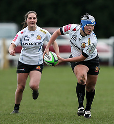 Sachiko Kato of Exeter Chiefs - Mandatory by-line: Arron Gent/JMP - 06/03/2021 - RUGBY - Twyford Avenue - Acton, England - Wasps FC Ladies v Exeter Chiefs Women - Allianz Premier 15s