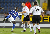 Fotball<br /> Frankrike 2004/05<br /> Strasbourg v Istres<br /> 28. august 2004<br /> Foto: Digitalsport<br /> NORWAY ONLY<br /> MAMADOU NIANG  (STR) / NISA SAVELJIC (IST)