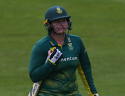 June 15, 2018 - London, United Kingdom - Lizelle Lee South Africa Women.during Women's One Day International Series match between England Women against South Africa Women at The Spitfire Ground, St Lawrence, Canterbury, on 15 June 2018  (Credit Image: © Kieran Galvin/NurPhoto via ZUMA Press)