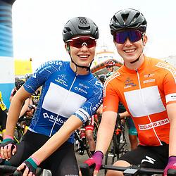 KNOKKE HEIST (BEL) July 10 CYCLING: 2nd Stage Baloise Belgium tour: Mischa Bredewold: Lonneke Uneken
