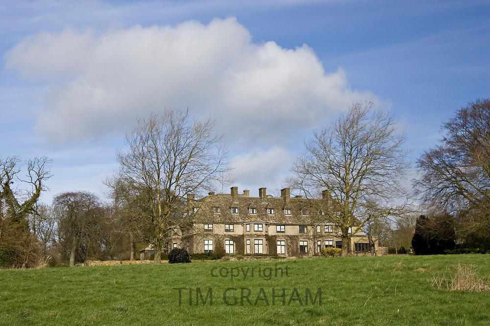 Swinbrook House in Oxfordshire (previously owned by the Mitford family), The Cotswolds, United Kingdom