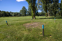 AMSTERDAM   - Bal in GUR.   Golf, regels,    COPYRIGHT KOEN SUYK