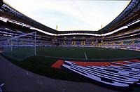 LISBOA-20 OUTUBRO:Vista geral do relvado do Est‡dio Alvalade XXI¼ casa da equipa da super liga do Sporting C.P. e que vai albergar o EURO 2004, 20-10-03 19:45 no est‡dio Alvalade XXI.<br />(PHOTO BY: AFCD/NUNO ALEGRIA)