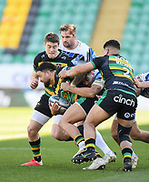 Rugby Union - 2020 / 2021 Gallagher Premiership - Round 11 - Northampton Saints vs Bath - Franklin Gardens<br /> <br /> Northampton Saints' Matt Proctor in action during this afternoon's game.<br /> <br /> COLORSPORT/ASHLEY WESTERN