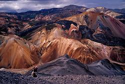 Fjallasýn í Landmannalaugum / Nice scenery in Landmannalaugar