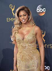 Laverne Cox bei der Verleihung der 68. Primetime Emmy Awards in Los Angeles / 180916<br /> <br /> *** 68th Primetime Emmy Awards in Los Angeles, California on September 18th, 2016***