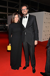Emilia Wickstead and her husband Daniel Gargiulo at the IWC Schaffhausen Gala Dinner in honour of the British Film Institute held at the Battersea Evolution, Battersea Park, London on 7th October 2014.