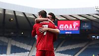 Football - 2016 / 2017 Scottish League Cup - Semi-Final - Greenock Morton vs. Aberdeen<br /> <br /> Kenny McLean of Aberdeen celebrates scoring the second goal at Hampden Park.<br /> <br /> COLORSPORT/LYNNE CAMERON