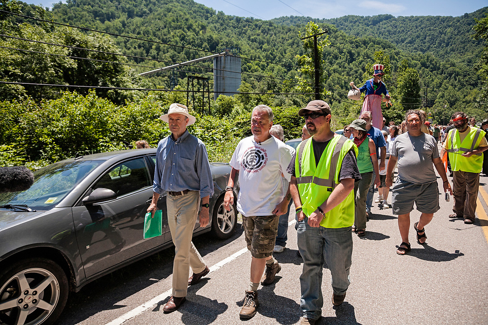 Dr. James Hansen, mountaintop removal mining protest
