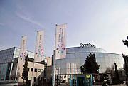 Nederland, Nijmegen, 24-03-2012 Gebouw, kantoor en laboratorium van Synthon in Nijmegen. Synthon is een succesvolle, jonge Nederlandse fabrikant van geneesmiddelen. Foto: Flip Franssen/Hollandse Hoogte
