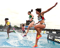 adidas Grand Prix Diamond League professional track & field meet: womens 3000 meter steeplechase, Stephanie GARCIA, USA
