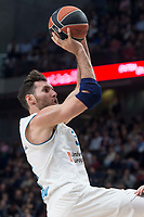 Real Madrid Rudy Fernandez during Turkish Airlines Euroleague match between Real Madrid and FC Barcelona Lassa at Wizink Center in Madrid, Spain. December 14, 2017. (ALTERPHOTOS/Borja B.Hojas)