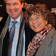 NLD/Amsterdam/20120217 - Premiere Saturday Night Fever, Dr. Marianne Piek en partner