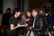 SHARLEEN SPITERI; JANET FISCHGRUND; ALEXANDER MCQUEEN, Kate Grand hosts a Love Tea and Treasure hunt at Flash. Royal Academy. Burlington Gardens. London. 10 december 2008 *** Local Caption *** -DO NOT ARCHIVE-© Copyright Photograph by Dafydd Jones. 248 Clapham Rd. London SW9 0PZ. Tel 0207 820 0771. www.dafjones.com.<br /> SHARLEEN SPITERI; JANET FISCHGRUND; ALEXANDER MCQUEEN, Kate Grand hosts a Love Tea and Treasure hunt at Flash. Royal Academy. Burlington Gardens. London. 10 december 2008