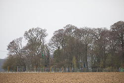 Wendover, UK. 28th April, 2021. Ancient woodland at Jones Hill Wood is viewed across a field. Felling of Jones Hill Wood, which contains resting places and/or breeding sites for pipistrelle, barbastelle, noctule, brown long-eared and natterer's bats, has recommenced for the HS2 high-speed rail link after a High Court judge yesterday refused campaigner Mark Keir permission to apply for judicial review and lifted an injunction on felling.