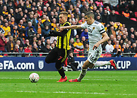 Football - 2018 / 2019 Emirates FA Cup - Semi-Final: Wolverhampton Wanderers vs. Watford<br /> <br /> Gerard Deulofeu of Watford runs through to score his extra time goal past Conor Coady at Wembley Stadium.<br /> <br /> COLORSPORT/ANDREW COWIE