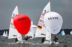 , Travemünde - Travemünder Woche 21. - 30.07.2017, 420er - GER 55330 - Lennart KUSS - Paul ARP - Warnemünder Segel-Club e. V翃