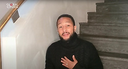 Capture - John Legend seen performing live on a smartphone as One World Together At Home is streaming live on April 19, 2020. One World Together At Home is a campaign rallying funds for the COVID-19 Solidarity Response Fund for the World Health Organization. The WHO's mission for COVID-19 is to prevent, detect, and respond to the pandemic. Photo via ABACAPRESS.COM