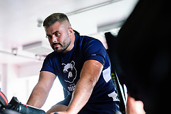 Jake Armstrong in action during week 1 of Bristol Bears pre-season training ahead of the 19/20 Gallagher Premiership season - Rogan/JMP - 03/07/2019 - RUGBY UNION - Clifton Rugby Club - Bristol, England.