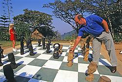 Guests Playing Chess At Ku Chawe Inn