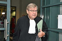 October 26, 2018 - Tongeren, BELGIUM - Lawyer Didier De Quevy pictured at a session of the council chamber, at the justice palace in Tongeren, Friday 26 October 2018. Several suspects in a large investigation into tax evasion, money laundering and possible match fixing in Belgian first division soccer competition were arrested in 'Operatie Propere Handen' (Operation Clean Hands)...BELGA PHOTO ERIC LALMAND (Credit Image: © Eric Lalmand/Belga via ZUMA Press)