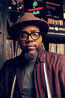 Speech Thomas, Grammy Award winning artist of the band Arrested Development, shot for Reel People Music on Auburn Avenue  in downtown Atlanta.