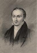 Lewis David von Schweinitz (1780-1834), American Moravian pastor, botanist and mycologist, born at Bethlehem, Pennsylvania.