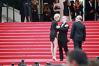 Sharon Stone at The Search gala screening red carpet at the 67th Cannes Film Festival France. Tuesday 20th May 2014 in Cannes Film Festival, France.