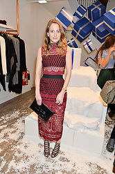ROSIE FORTESCUE at a party to celebrate 'Kitmas' at Kit & Ace at 80-82 Regent Street, London on 9th December 2015.