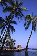Pu'uhonua o Honaunau (City of Refuge), Island of Hawaii<br />