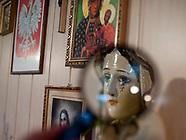 Hryniewicze. Płacząca figura Matki Boskiej