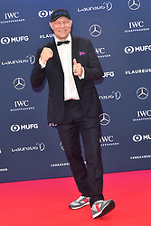 February 18, 2019 - Monaco, Monaco - Axel Schulz arriving at the 2019 Laureus World Sports Awards on February 18, 2019 in Monaco  (Credit Image: © Famous/Ace Pictures via ZUMA Press)