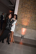 SOHA EDREES; SAM DEAN, Serpentine Gallery and Harrods host the Future Contempories Party 2016. Serpentine Sackler Gallery. London. 20 February 2016