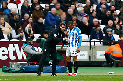 Huddersfield Town manager Jan Siewert Jason Puncheon of Huddersfield Town - Mandatory by-line: Phil Chaplin/JMP - 16/03/2019 - FOOTBALL - London Stadium - London, England - West Ham United v Huddersfield Town - Premier League