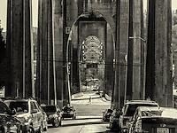Arches of Aurora Bridge, Seattle