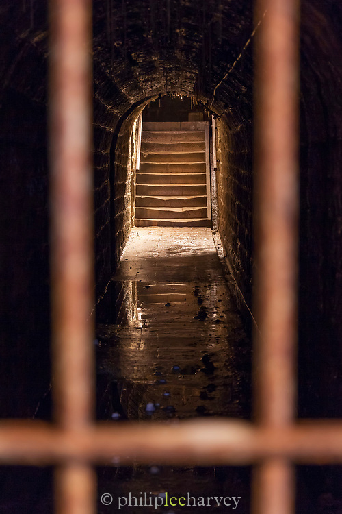 Tunnel in Fort Douaumont in France