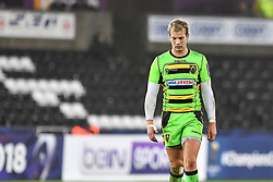 Northampton Saints' Harry Mallinder<br /> <br /> Photographer Craig Thomas/Replay Images<br /> <br /> EPCR Champions Cup Round 4 - Ospreys v Northampton Saints - Sunday 17th December 2017 - Parc y Scarlets - Llanelli<br /> <br /> World Copyright © 2017 Replay Images. All rights reserved. info@replayimages.co.uk - www.replayimages.co.uk