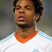 Marseille's Loic Remy during their UEFA Europa League Group Stage Group C soccer match Fenerbahce between Marseille at Sukru Saracaoglu stadium in Istanbul Turkey on Thursday 20 September 2012. Photo by TURKPIX