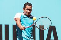 Spanish Nicolas Almagro during Mutua Madrid Open Tennis 2017 at Caja Magica in Madrid, May 09, 2017. Spain.<br /> (ALTERPHOTOS/BorjaB.Hojas)