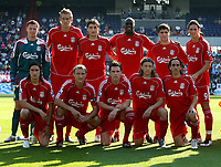 Photo: Maarten Straetemans.<br /> Shanghai Shenhua v Liverpool. Rotterdam Tournament. 03/08/2007.<br /> Liverpool Team